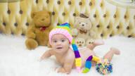 Luiza 9 meses de