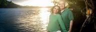 Ensaio fotográfico de casal de Carlos e Fabiana
