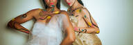 Retratos Femininos de Projeto A Magia das Cores