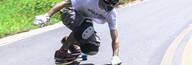 Esporte de skate long Hélio Silva