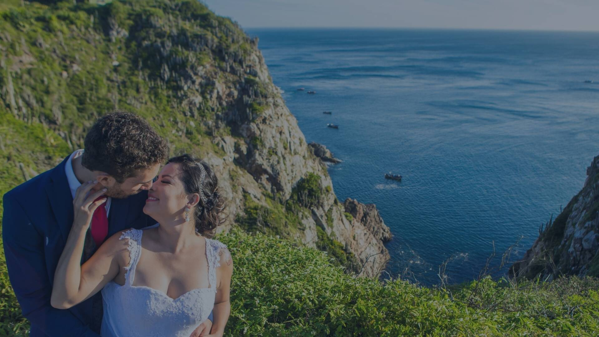 TRASH THE DRESS de PAMELA & DIOGO