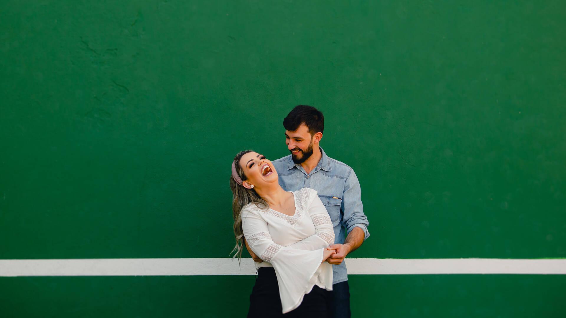Ensaio de Casal de Sabrina e Guilherme