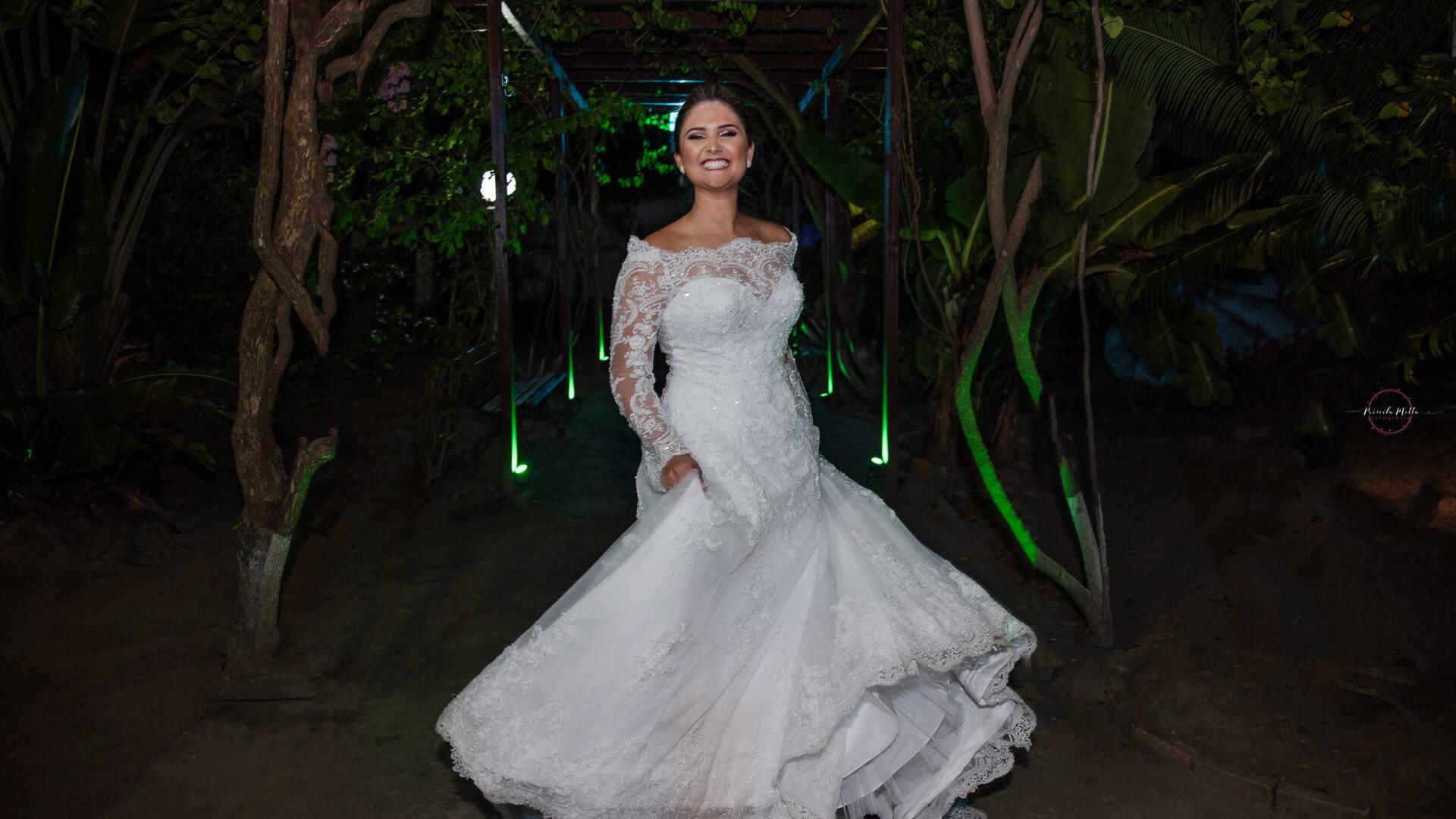 Noiva  de Thayane