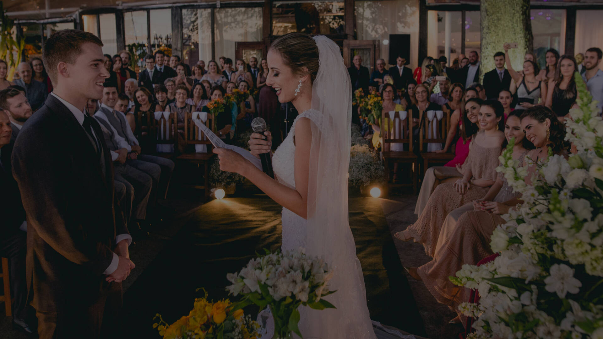 Casamento de Izabella + Chris