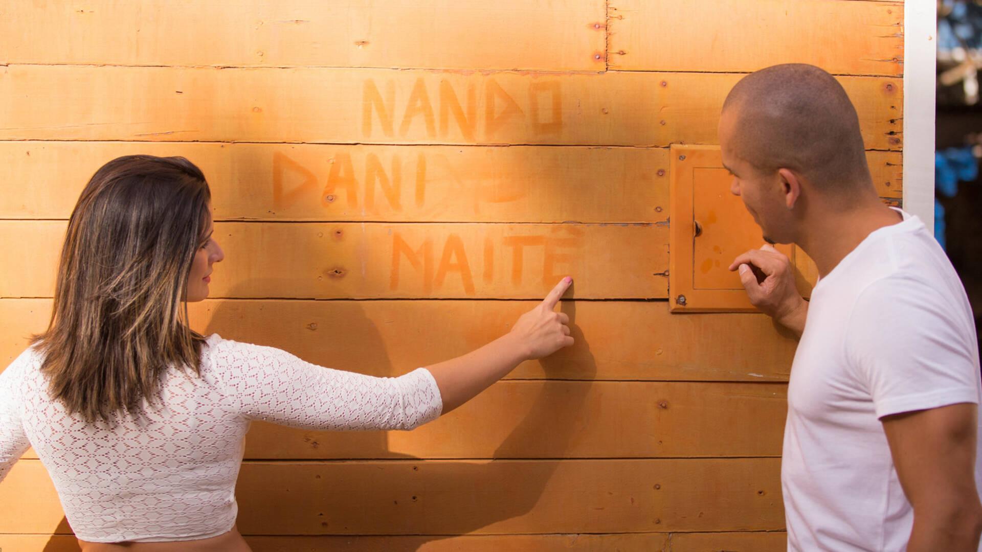 Gestante de Dani + Nando = Maitê