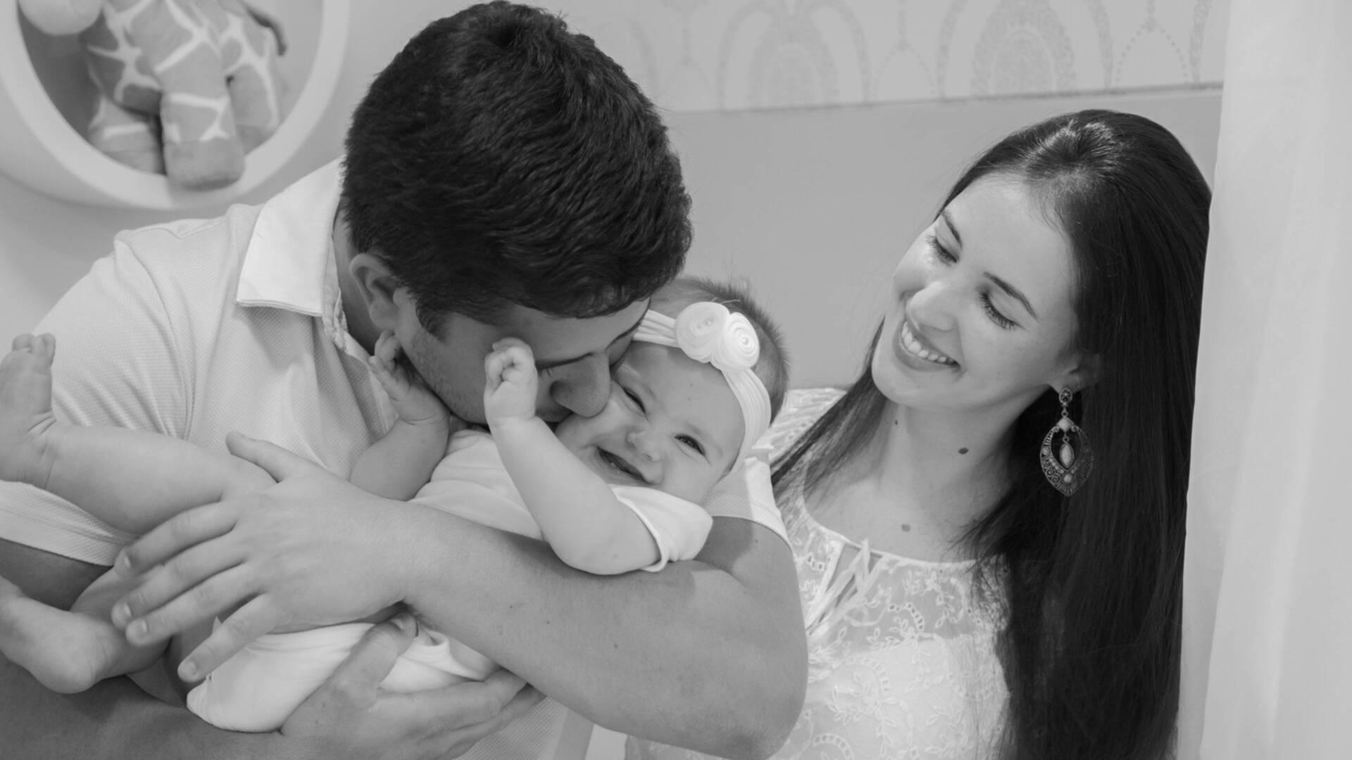 Fotografia Documental de Família de Família da Maria Fernanda