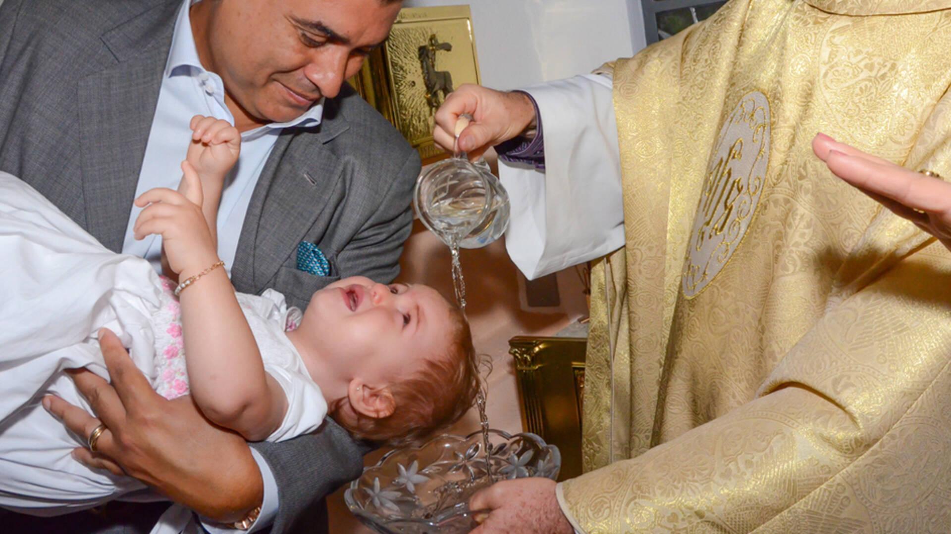de Fotos do batizado da Stella