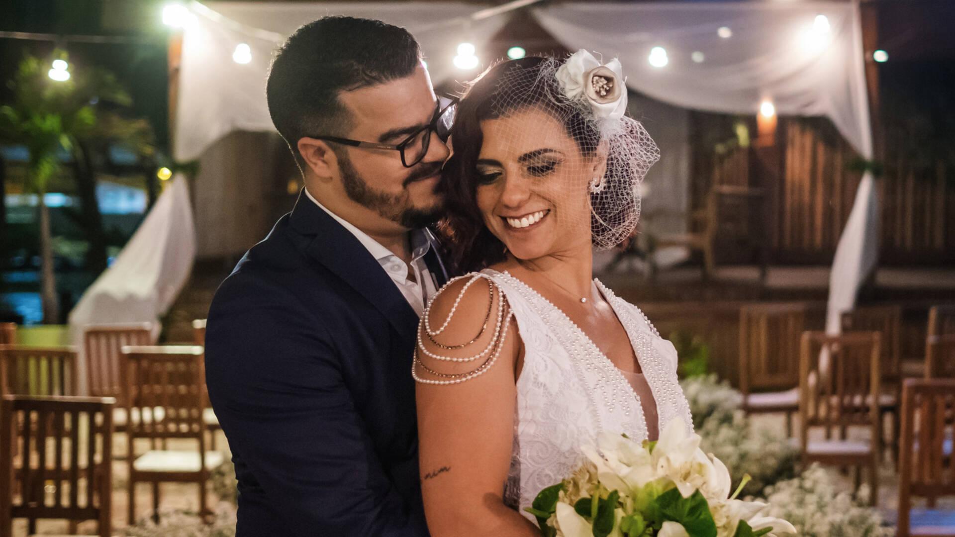 Mini Wedding de Naília Eventos - Amanda e Alex