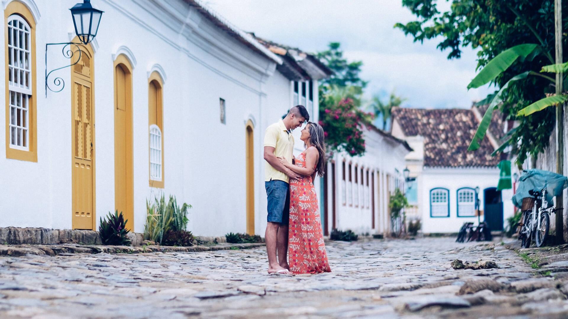 Ensaio Pré Wedding de Larissa e Caio