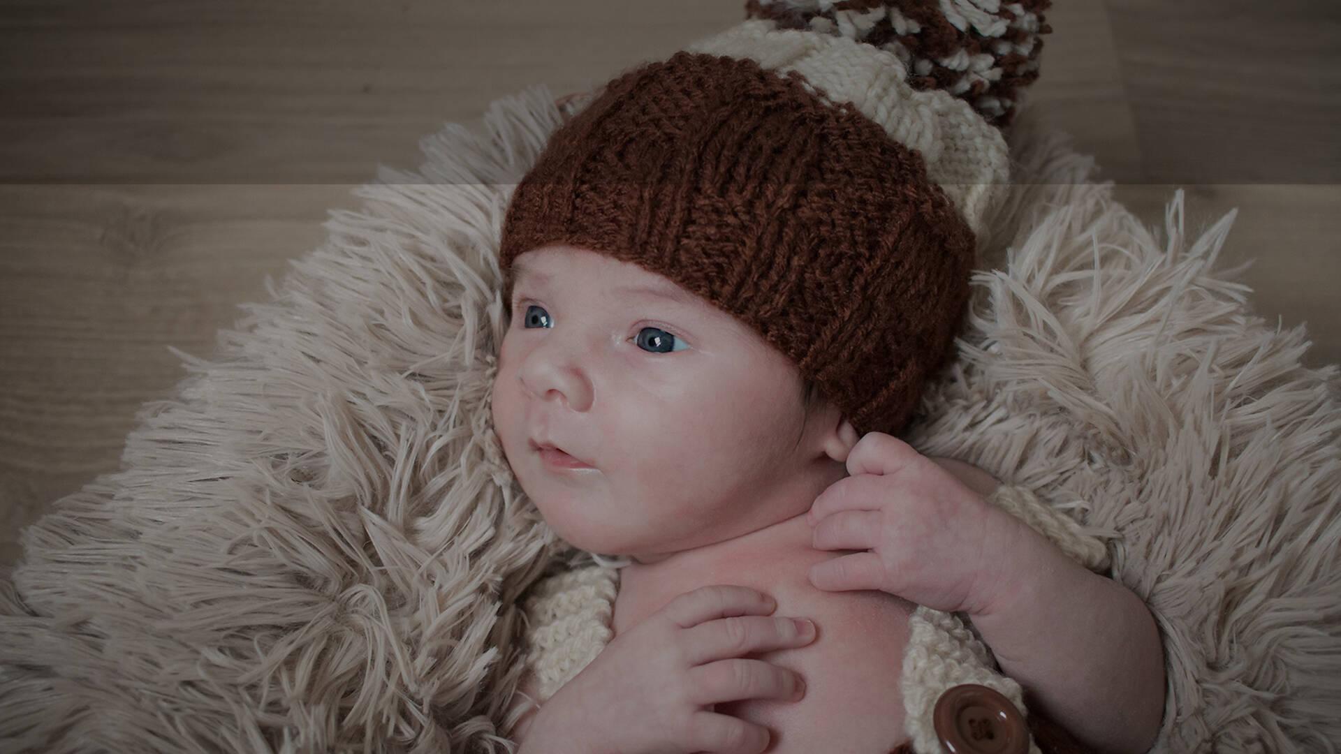 Ensaio Newborn de Matheus