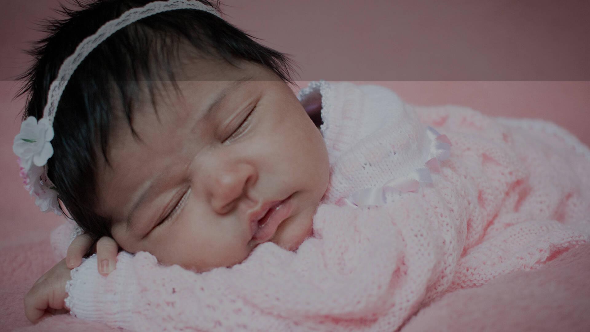 Ensaio Newborn de Marina