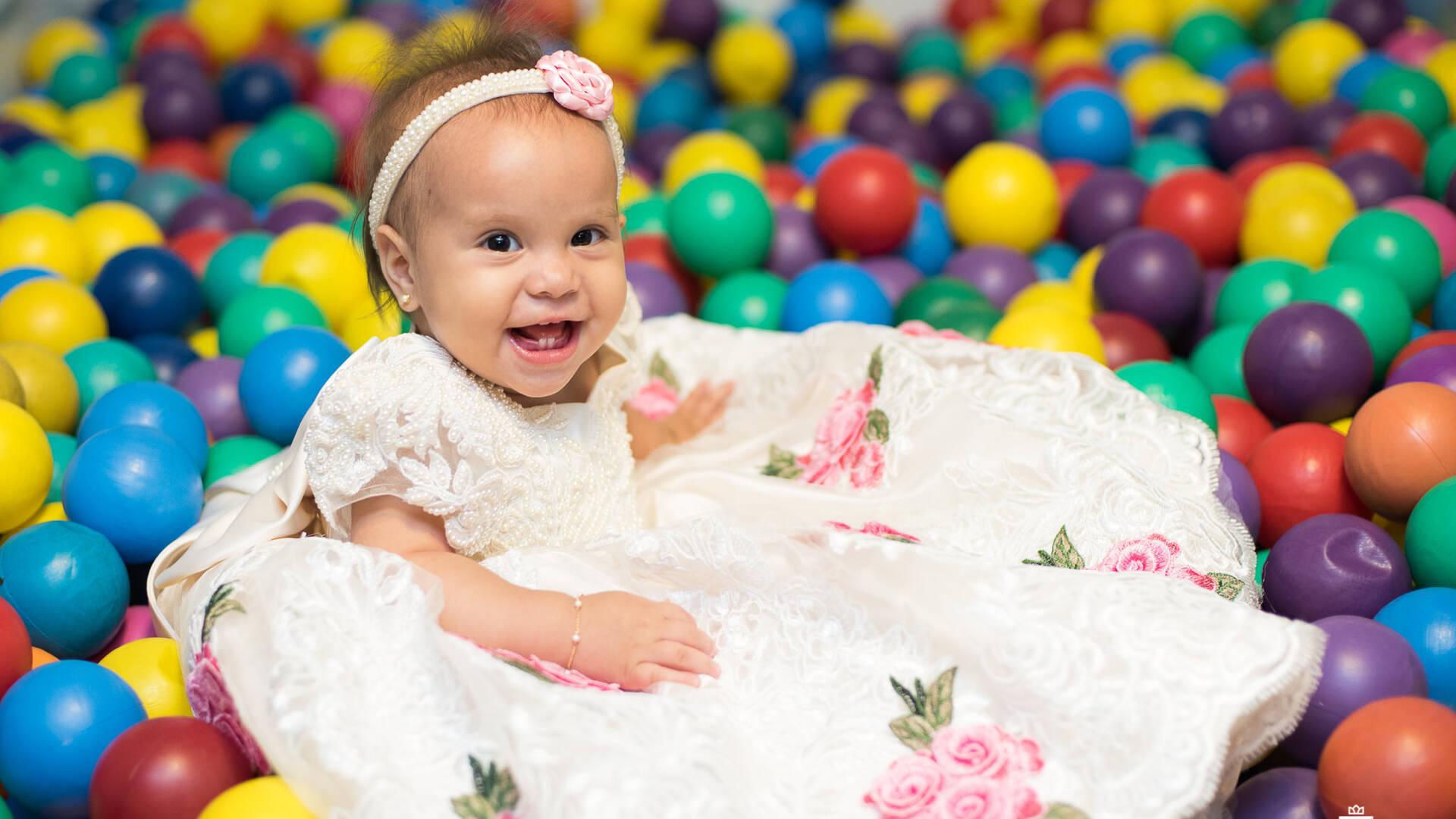 Festas Infantis de Amanda fez 1 aninho
