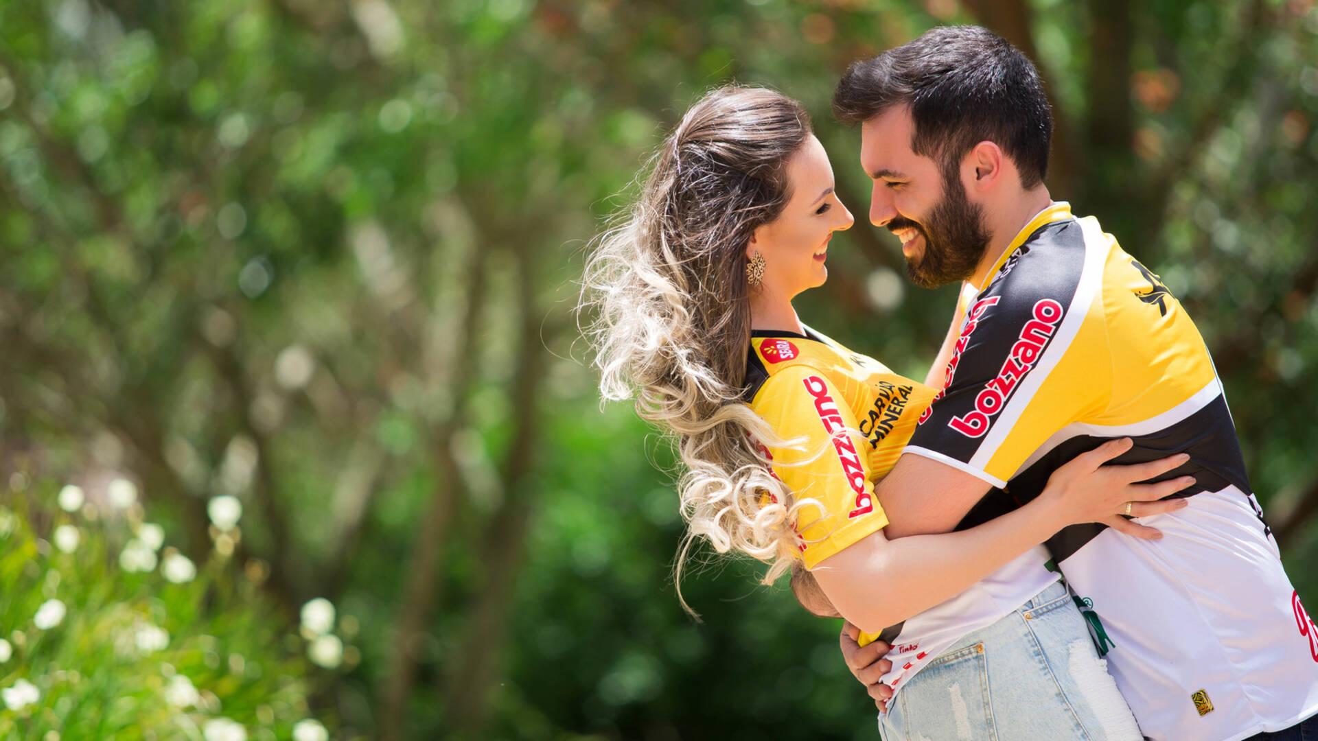 Ensaio Casal de Camila e Guilherme
