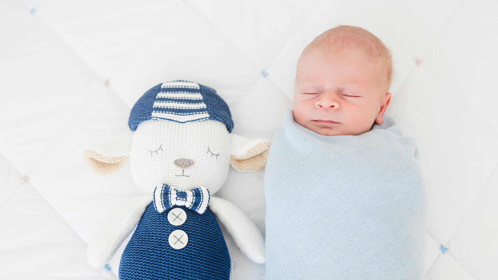 recém - nascido de Pedro - 14 dias