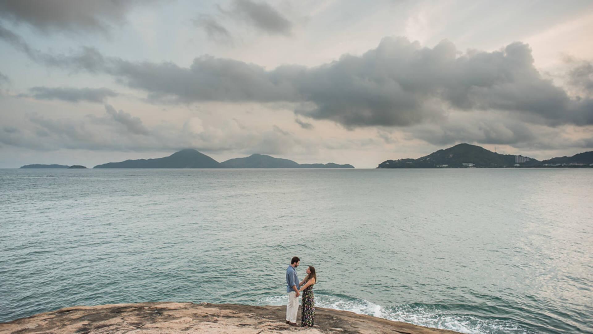 Pré Wedding de Amarylis + Rubens
