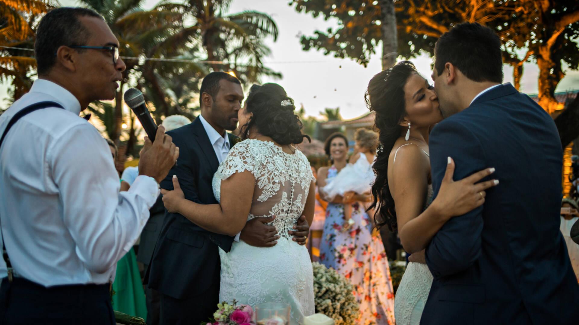 Destination Wedding de Karol + Thiago, Nathália + Paulo