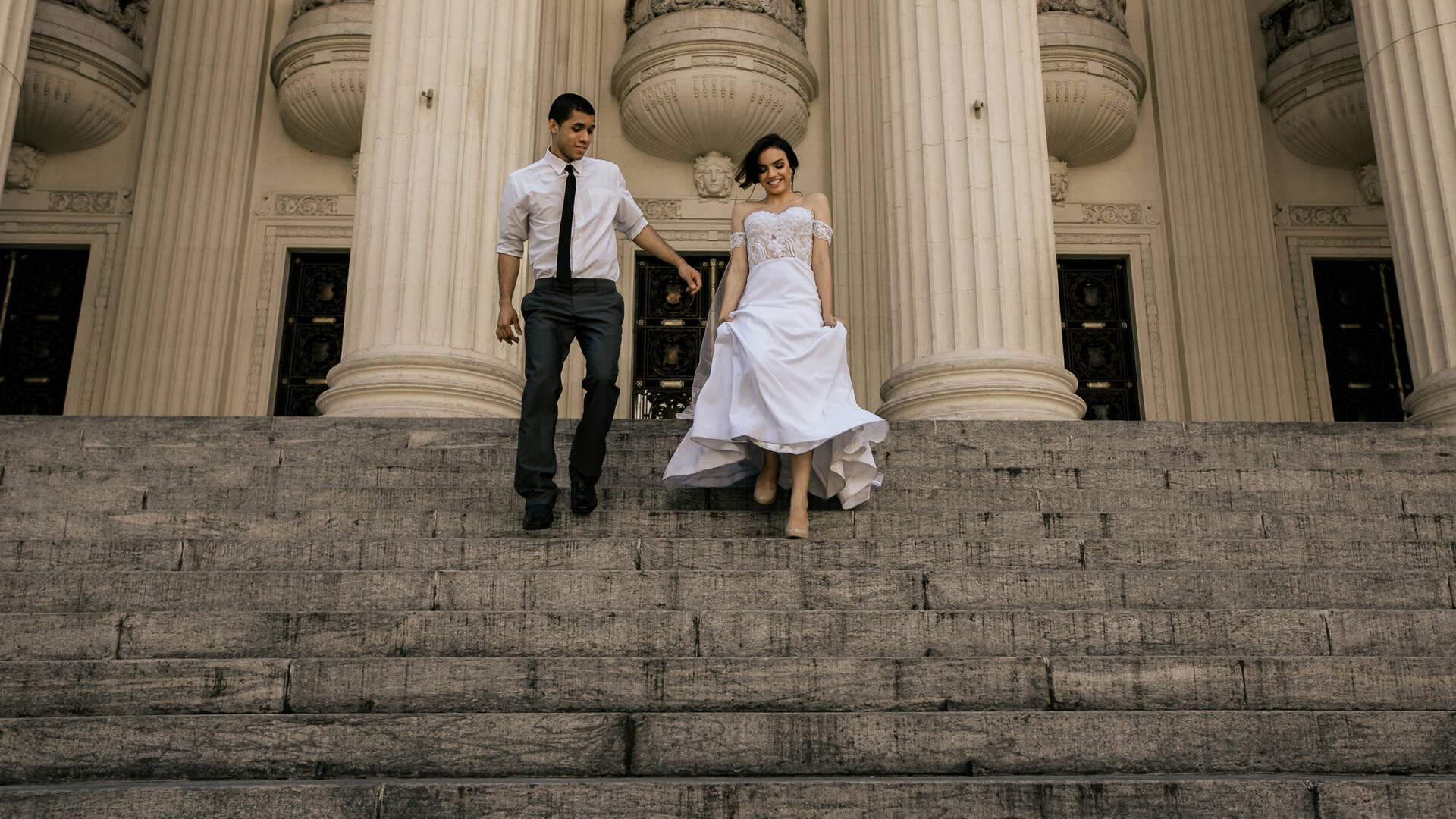 Trash the dress de Jasmini e Douglas