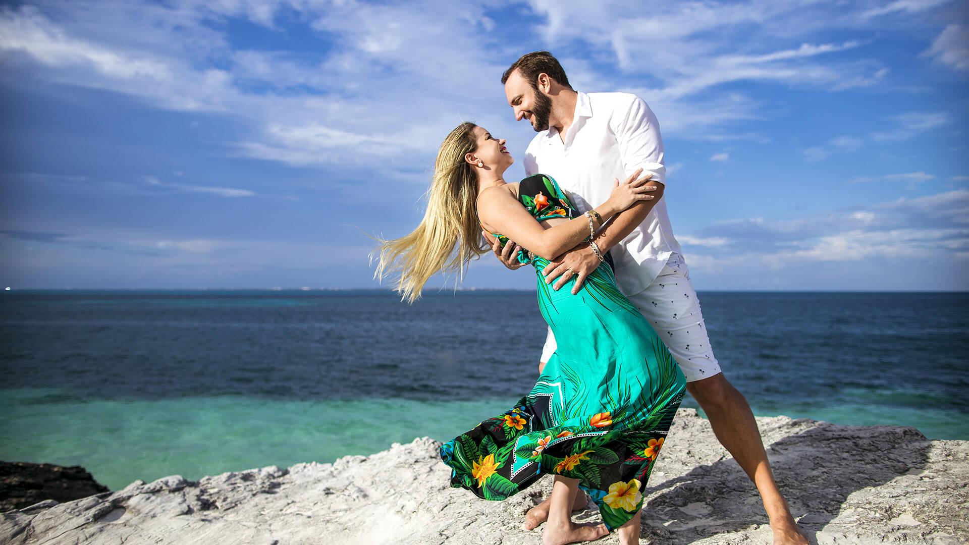 Cancun, Mexico de Wedding Kissy & Pierri