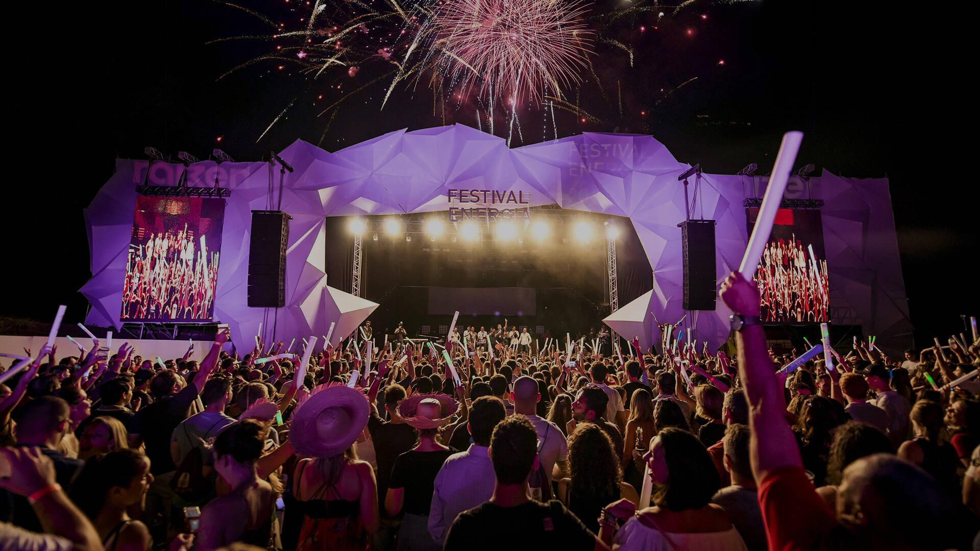 Festa de Fim de Ano de Festival Energia Raizen