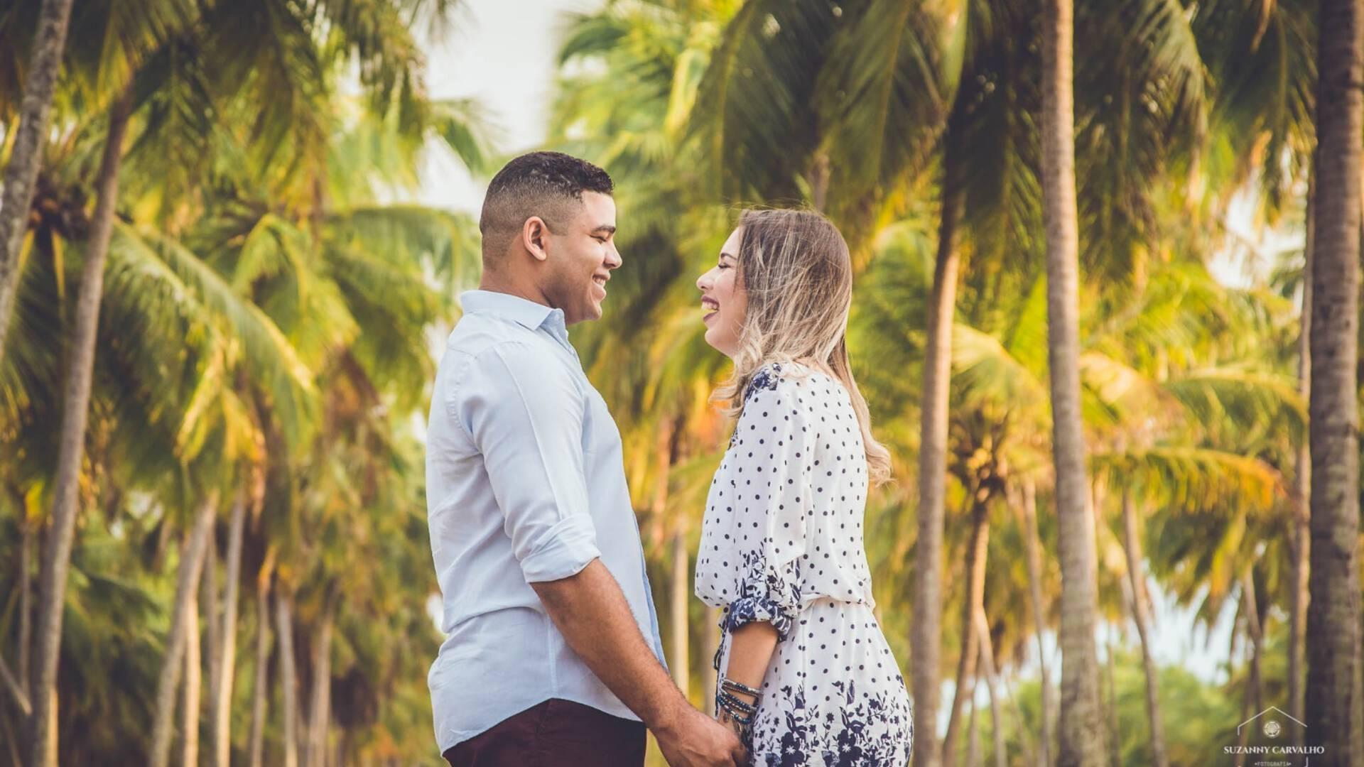 ENSAIO PRE WEDDING de AMANDA&JONATHAN