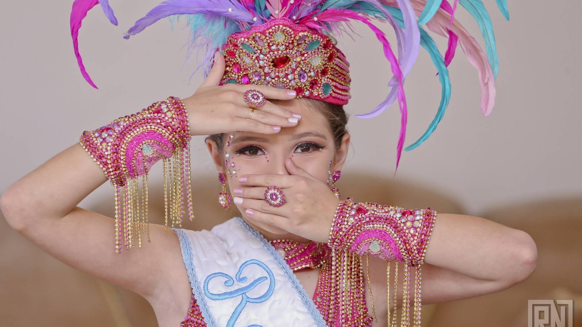 Rainha Carnaval 2018 de Eduarda Oderdenge Vitória