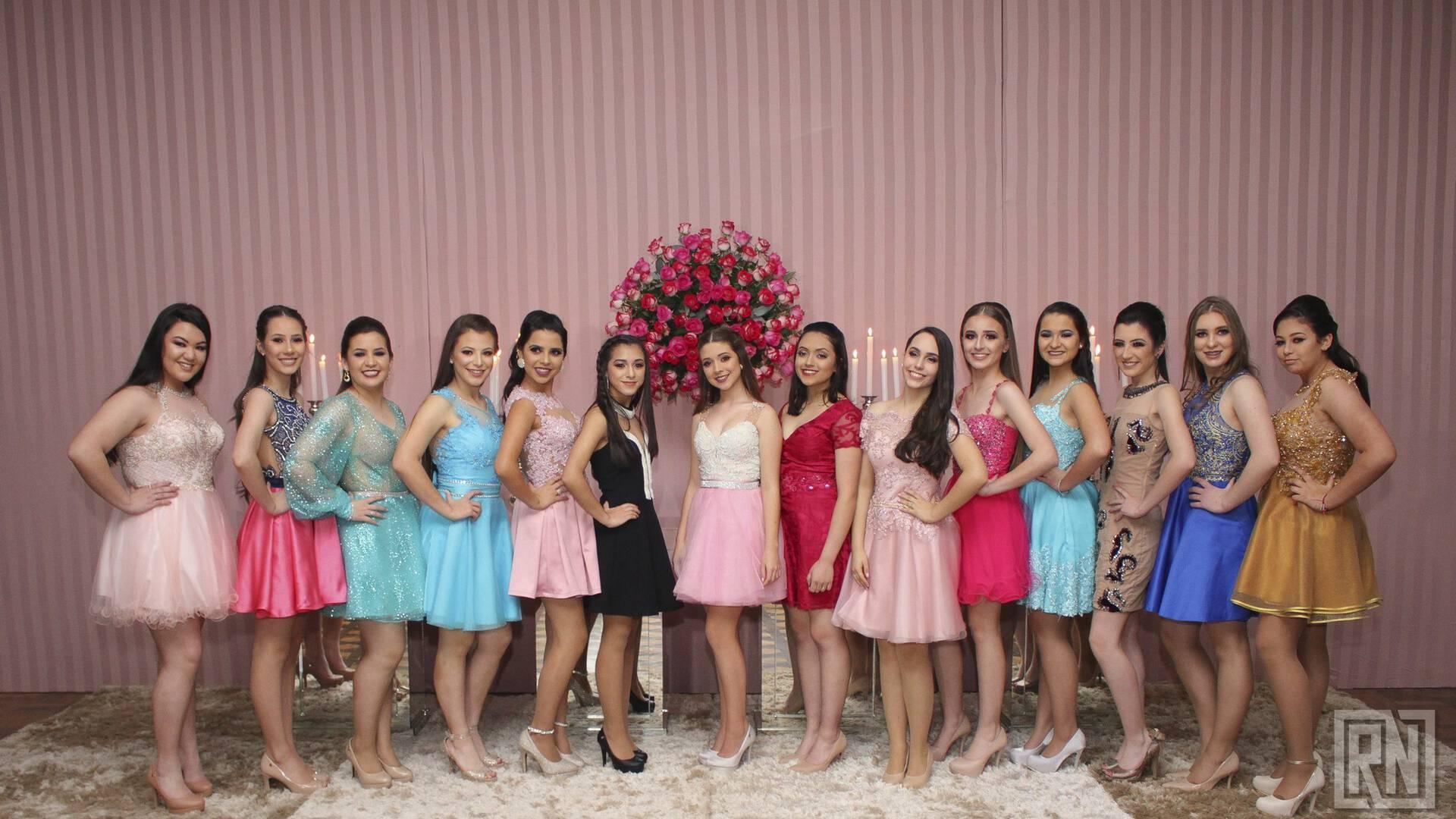 Debutantes 2018 de Jantar Debutantes Clube Astréa