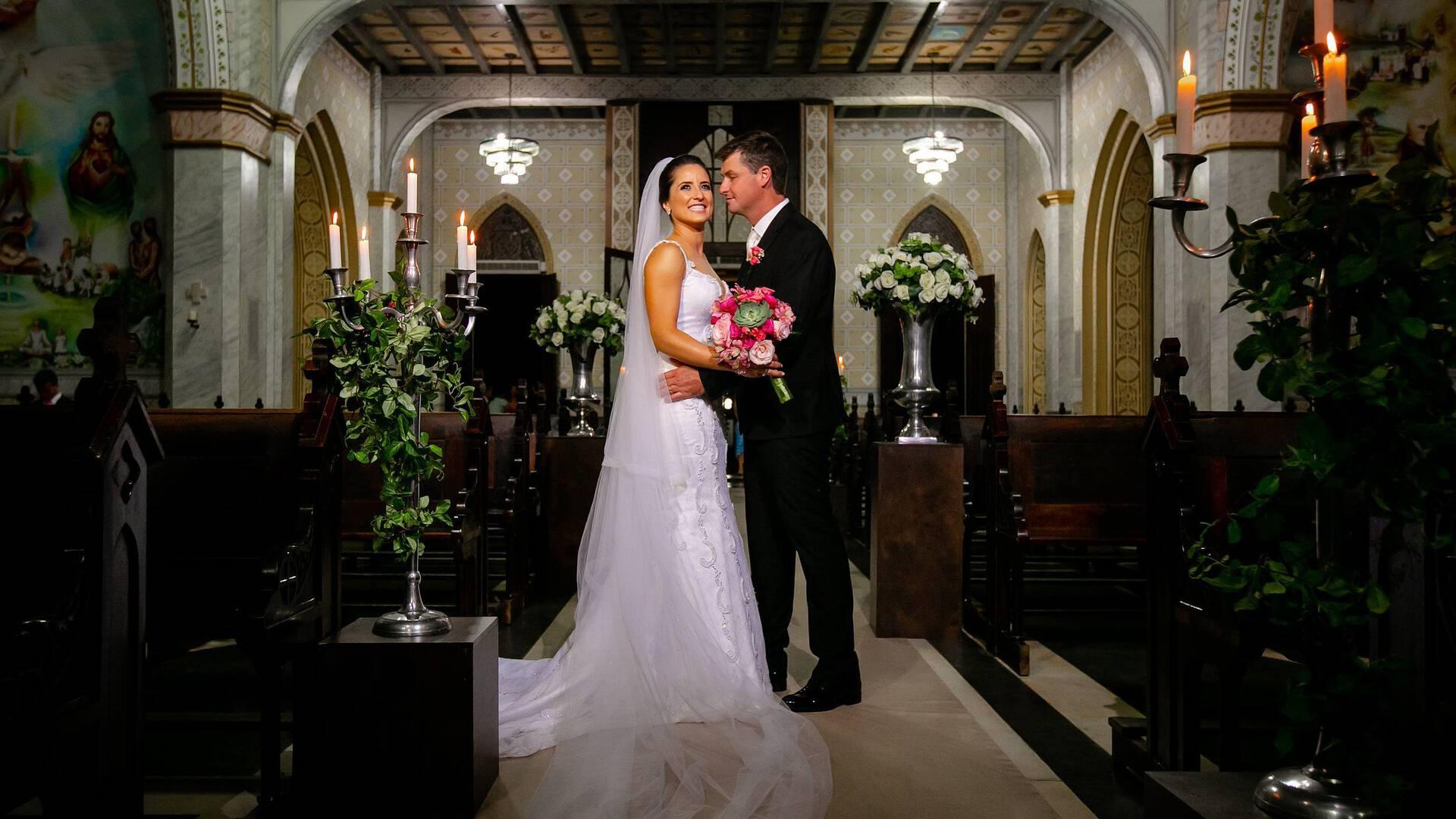 Casamento de Pamela e Gustavo