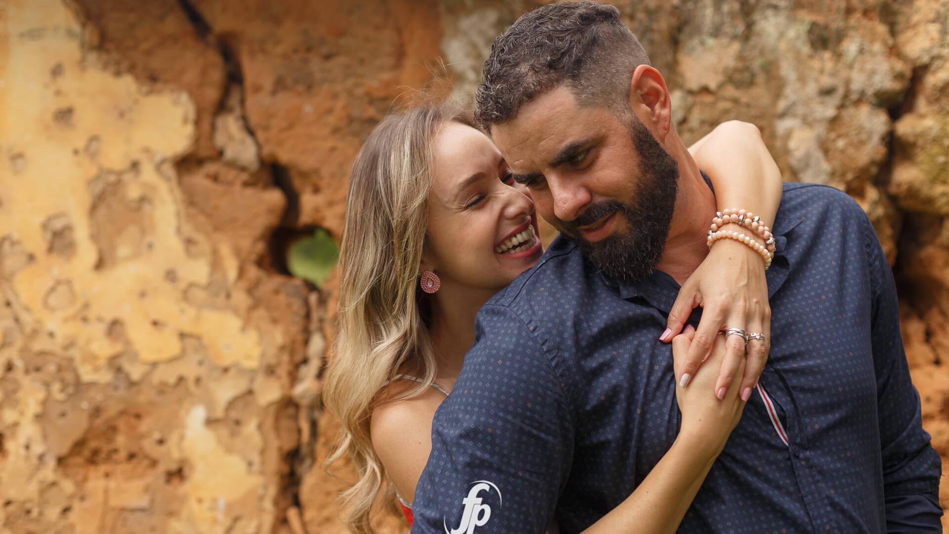 Leticia e Daniel de Ensaio