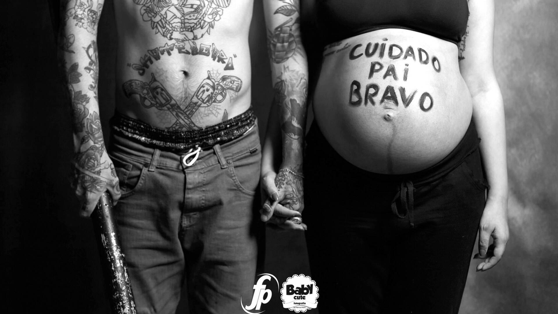 Gestante de Bruna + Marcos = Lívia