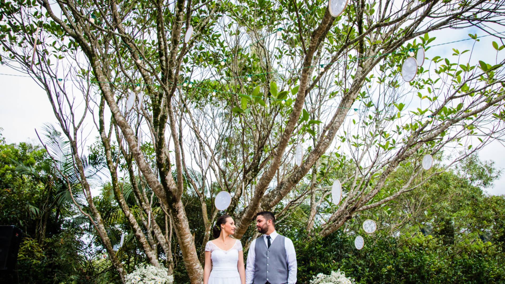 Casamento da Natalia e Gabriel de Espaço Cantareira