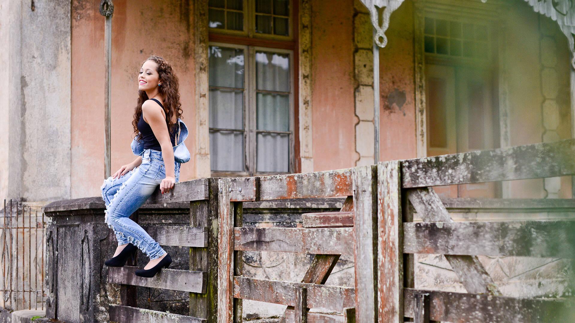 Fotografia é atitude. de Ensaio de 15 anos em Rancho Queimado/SC