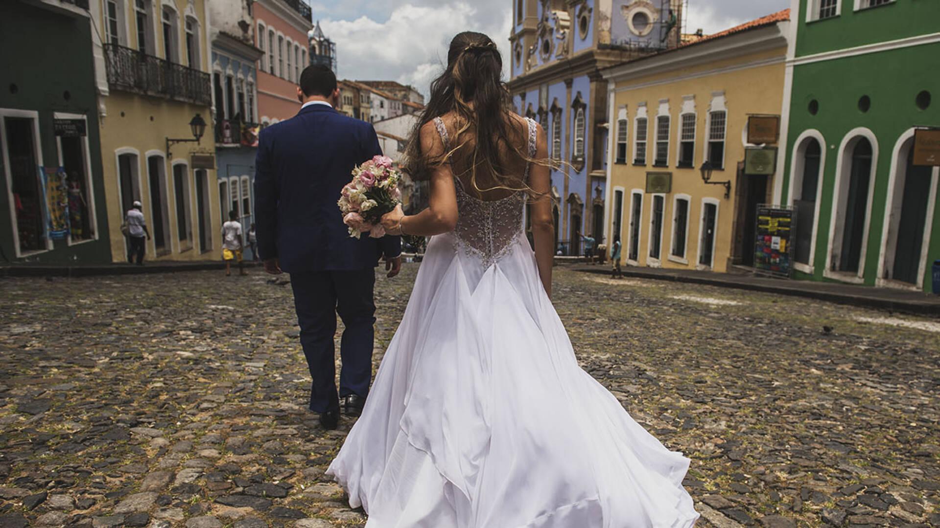 Dani e Vitor de Trash the Dress