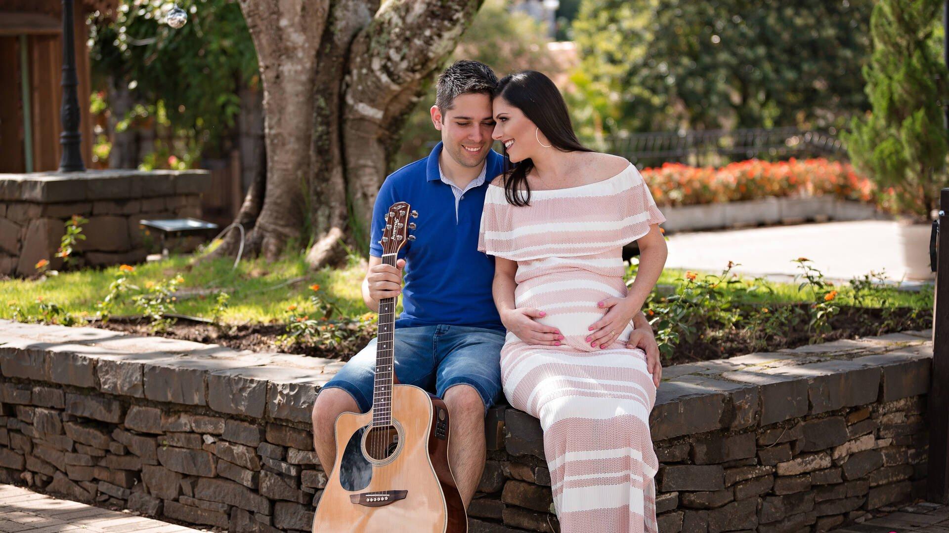 Gestação de Fabiani e Alison