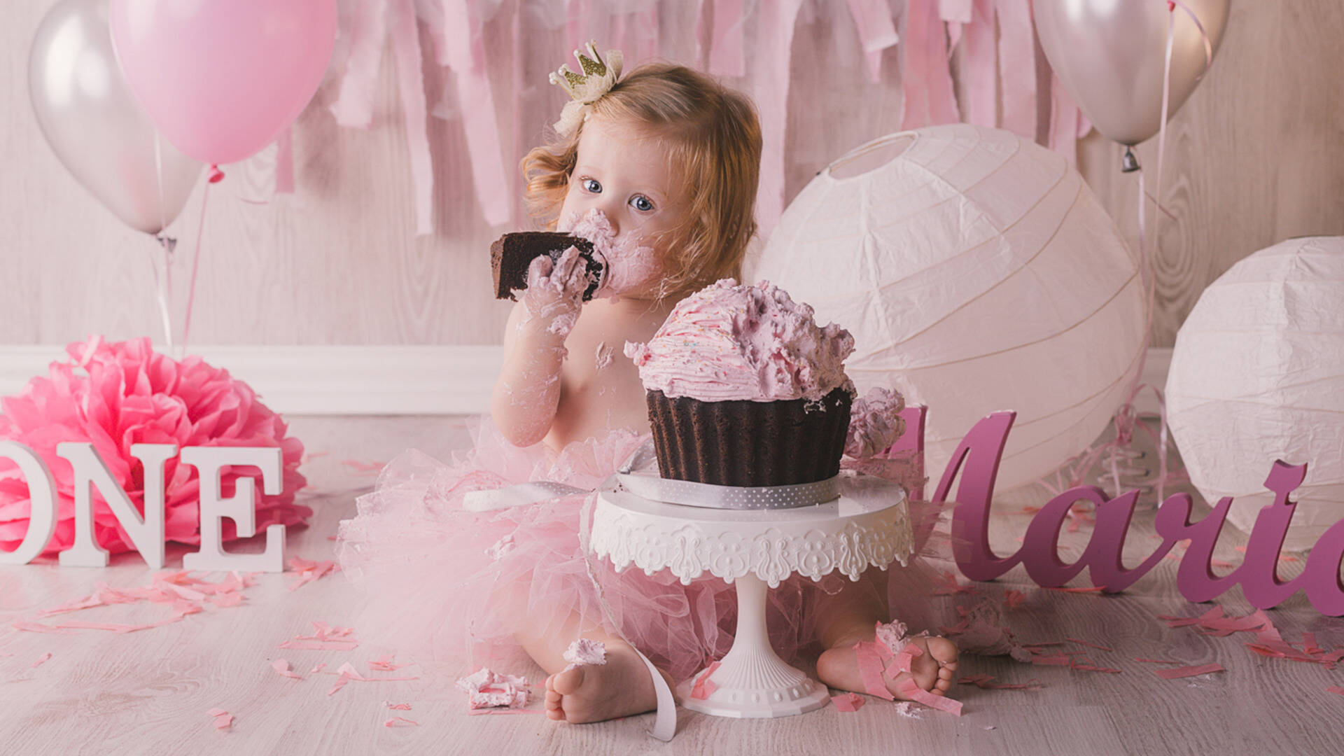 Smash Cake de Maria Marelo