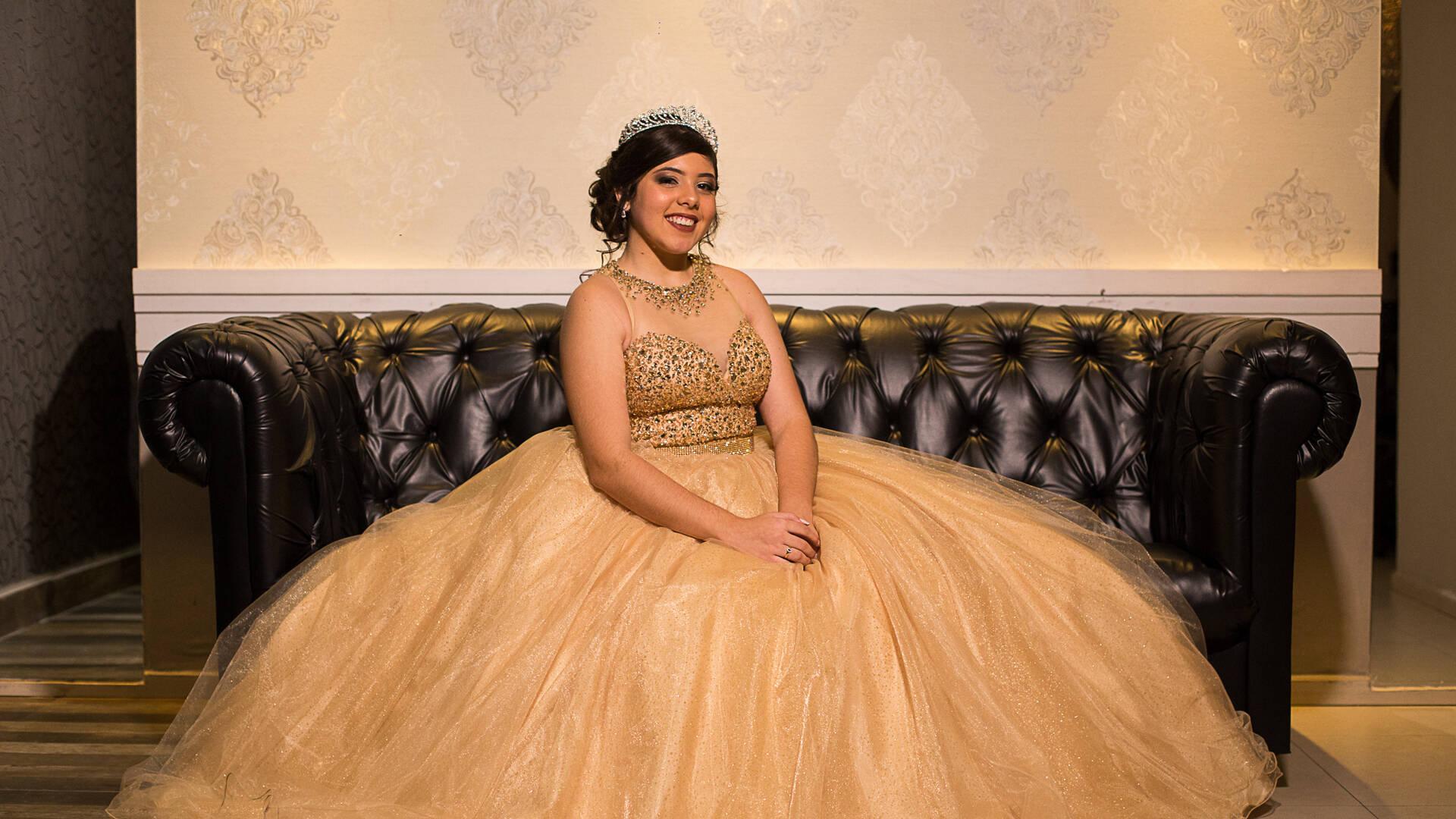 Debutante Julia de Um dia de Princesa