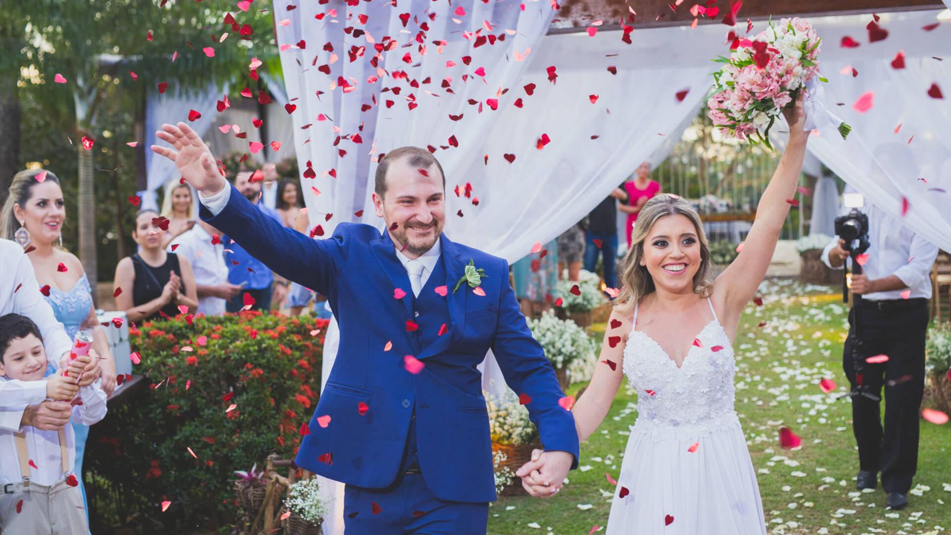 Casamento de Kelly e Jackson