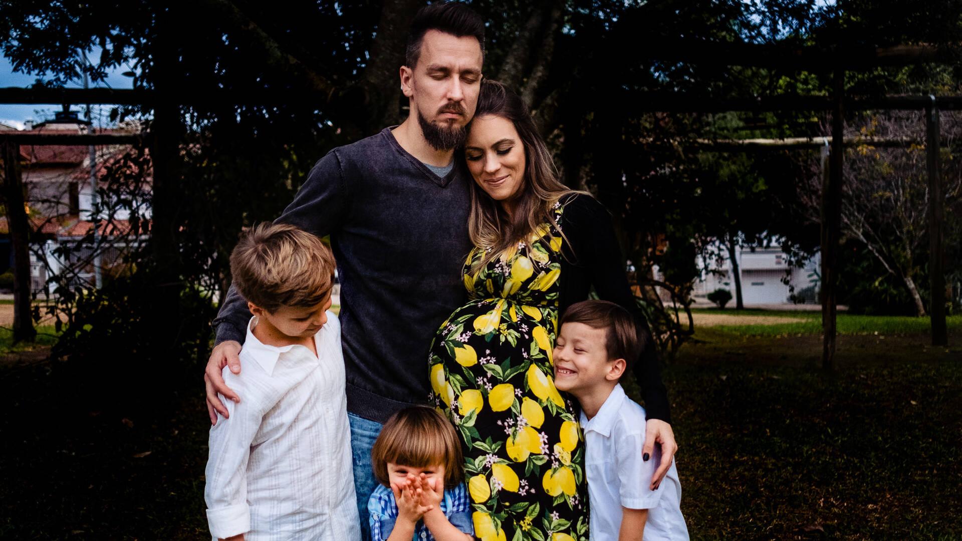 Um Dia na Vida de Família Stein Figueiró