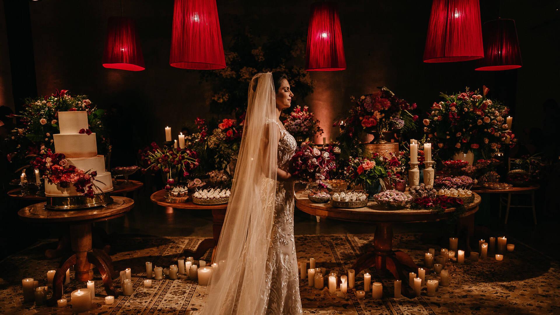 Casamento no campo de Marcella e Artur
