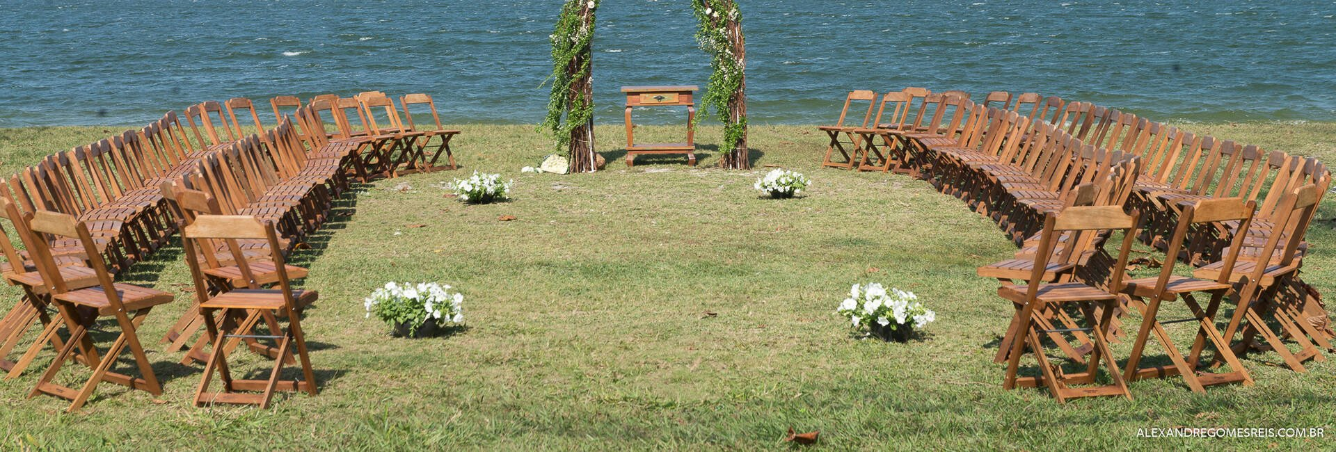 Casamento ao ar Livre de
