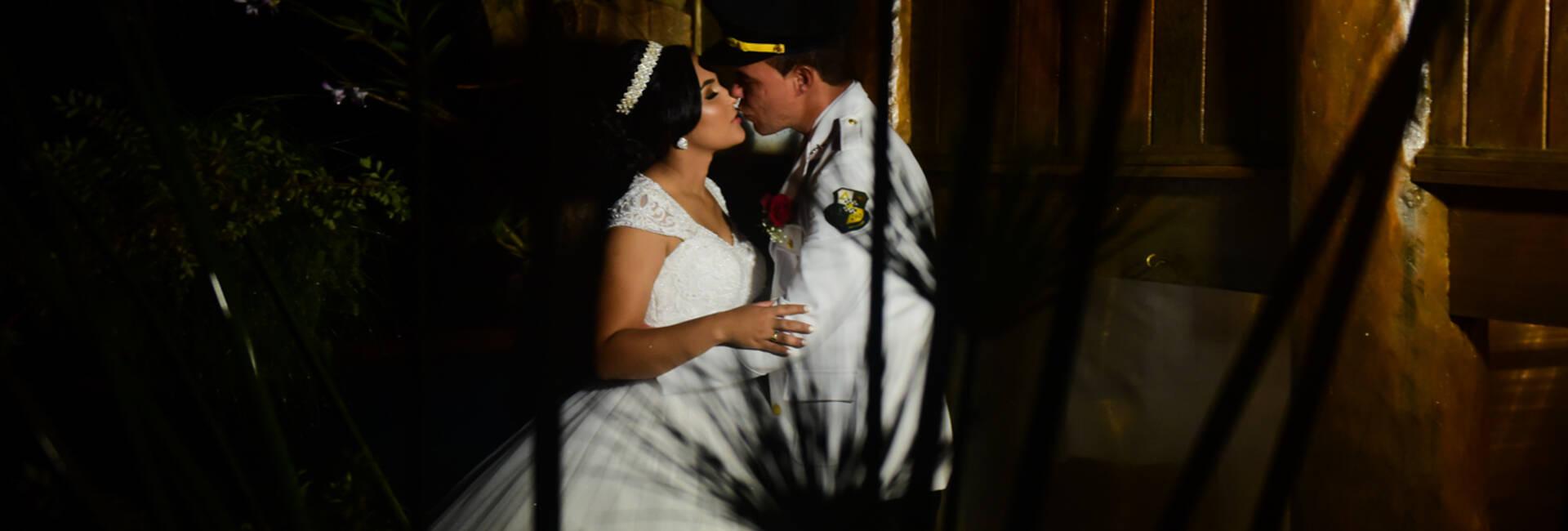 Jéssika e Geovani de Casamento