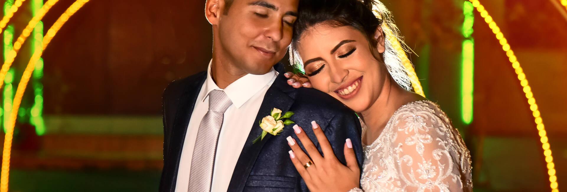 Letícia e Eliezer de Casamento