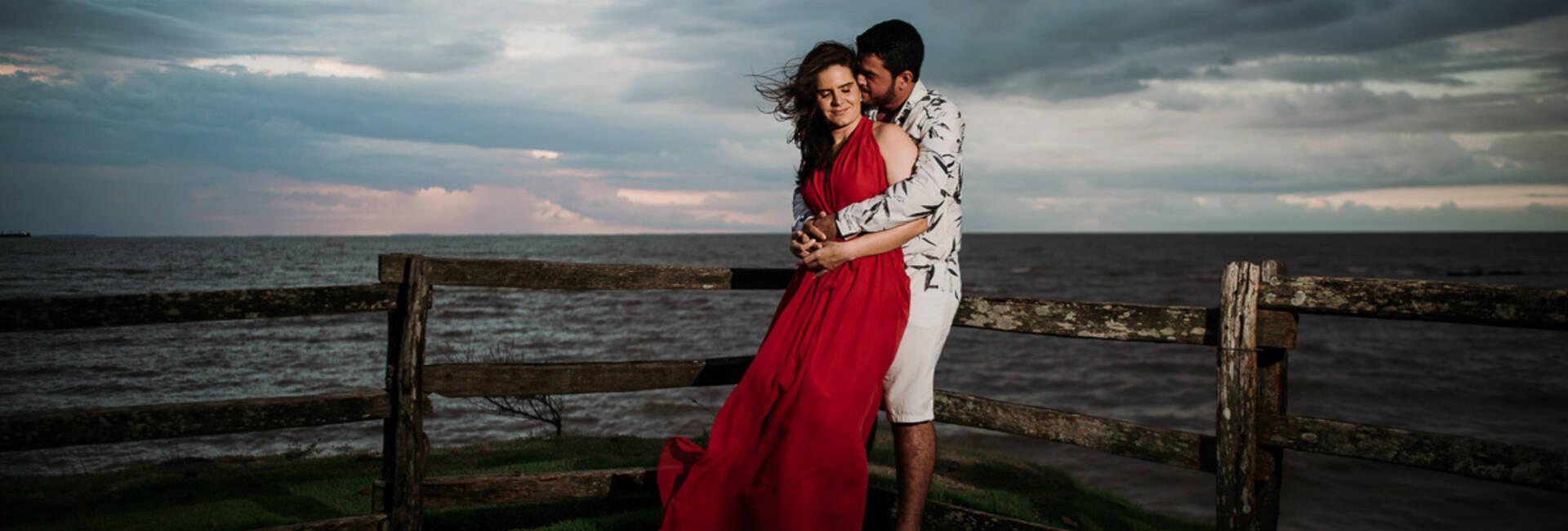 ENSAIO PRE WEDDING de JÉSSICA E WEVERTON