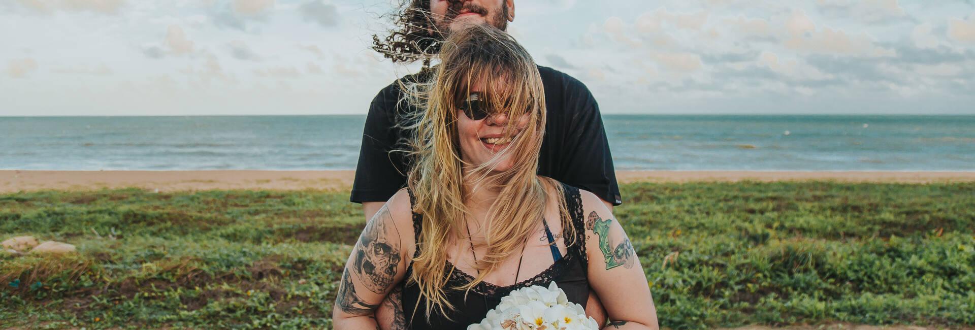 Jana e Andre de Casamento Surpresa