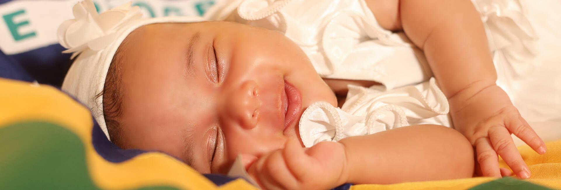 Newborn de Rebeca 23 dias