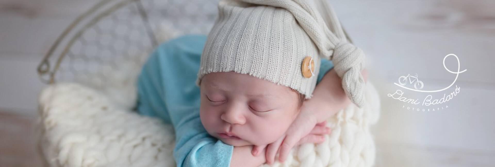 Ensaio Newborn de Pedro