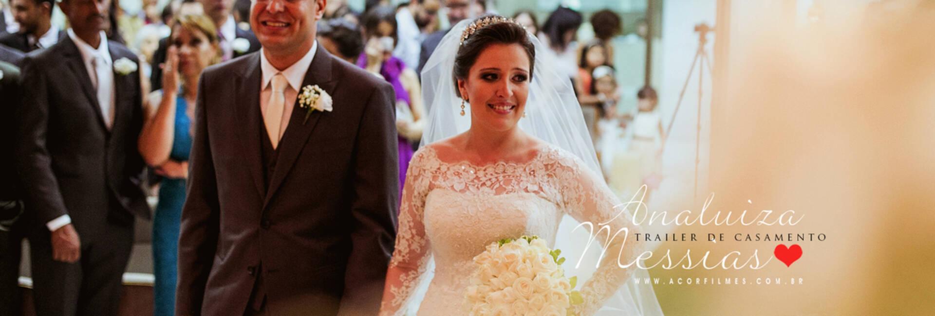Trailer de Casamento de Analuiza e Messias