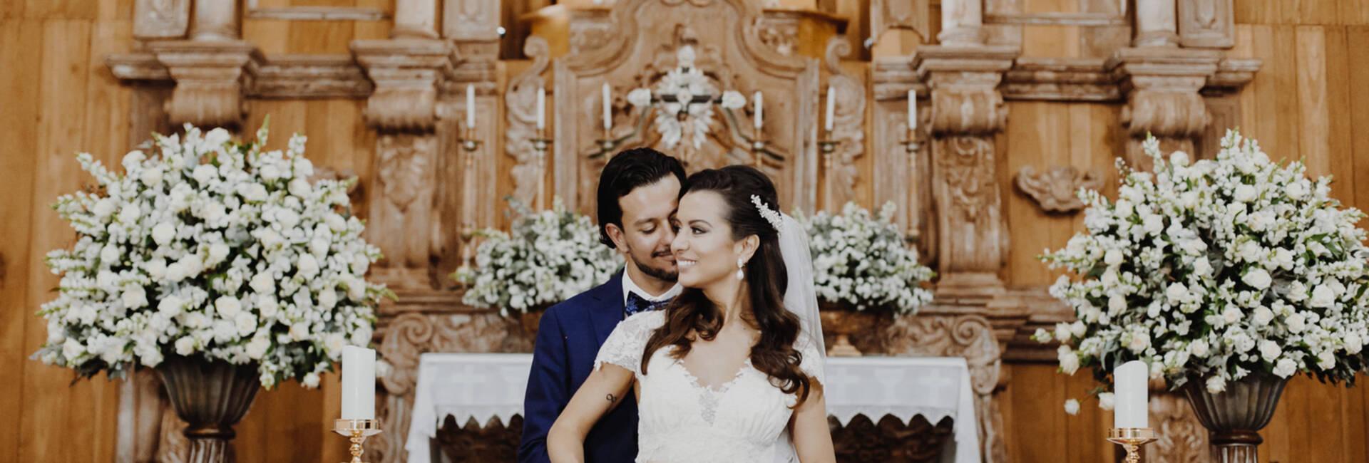 Casamentos de Giselle e Pedro