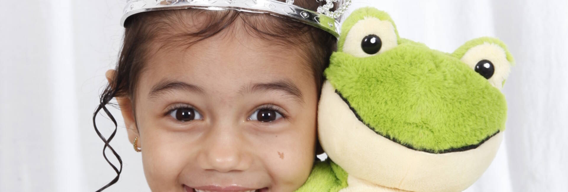 Book Infantil de A princesa e o sapo