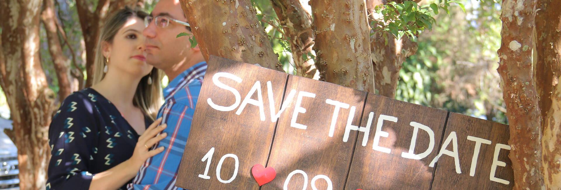 Ensaios - Save the date de Rafaela e Bruno