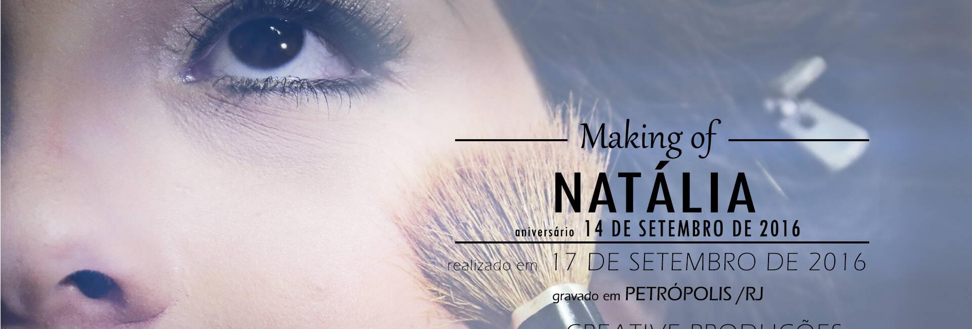 XV Anos de Making Of | Natália